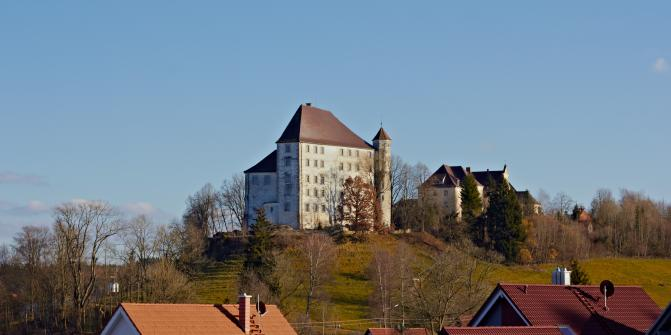 Das Schloss zu Bad Grönbach